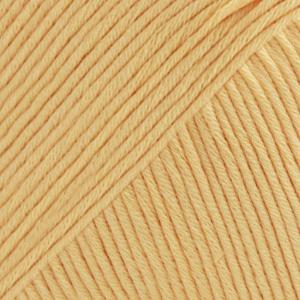 DROPS Muskat Uni Colour garn - 50g - Vaniljgul (30)