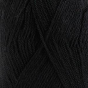 DROPS Babyalpaca Silk Uni Colour garn - 50g - Svart (8903)
