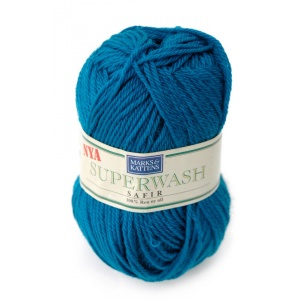 Superwash Safir garn - 50g - Petrol (1507)
