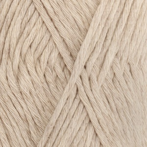 DROPS Cotton Light Uni Colour garn - 50g - Ljus beige (21)