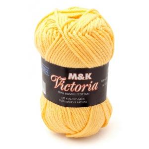 M&K Victoria garn - 50g - Gul (755)