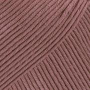 DROPS Muskat Uni Colour garn - 50g - Ljus brun (09)