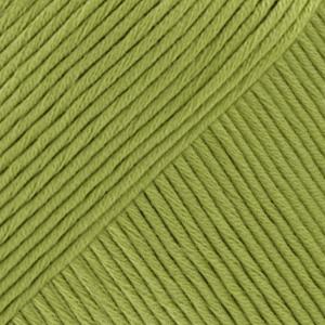DROPS Muskat Uni Colour garn - 50g - Äppelgrön (53)