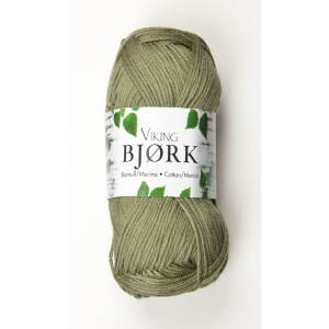 Viking garn Bjørk 50g Grön (536)