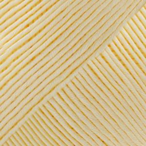 DROPS Muskat Uni Colour garn - 50g - Ljus gul (07)