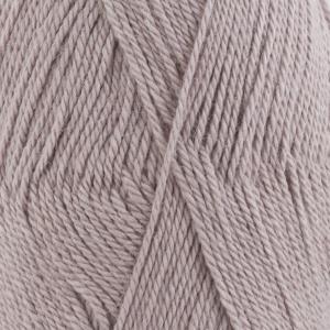 DROPS Babyalpaca Silk Uni Colour garn - 50g - Ljus grålila (1760)