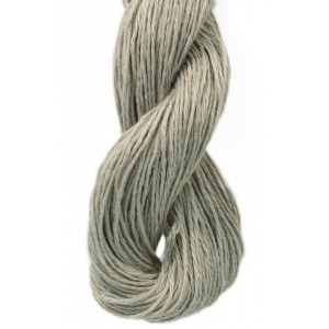 M&K Linen garn - 50g - Grågrön (960)
