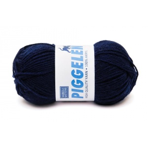 Piggelen garn - 25g - Mörkblå (209)