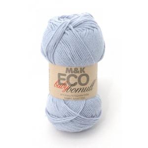 M&K Eco Baby Bomull garn - 50g - ljusblå (910)