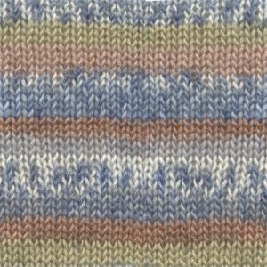 DROPS Fabel Print garn - 50g - Sea mist (910)