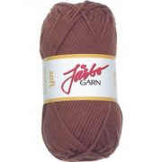 Soft Cotton garn 50g Barkbrun