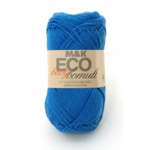 M&K Eco Baby Bomull garn - 50g - Klarblå (915)