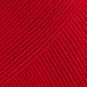 DROPS Muskat Uni Colour garn – 50g – Röd (12)