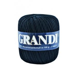 Grandi garn - 100g - Mörkblå (1104)