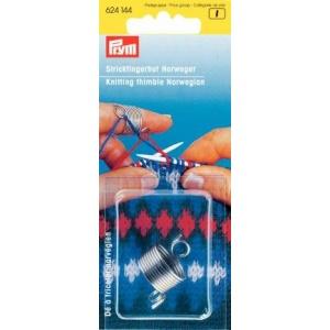Fingerborg för stickning plast