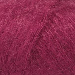 DROPS Kid-silk Uni Colour garn - 25g - Mörk rosa (17)