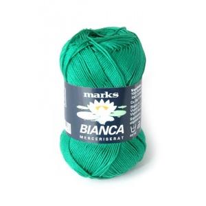 Bianca garn - 50g - Smaragdgrön (50)