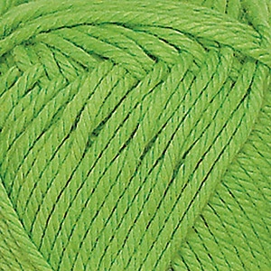 Soft Cotton garn 50g Limegrön