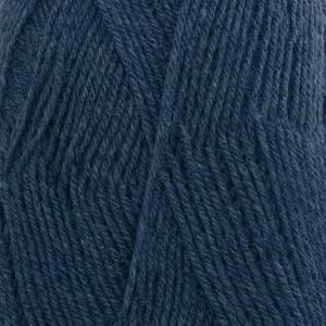 DROPS Fabel Uni Colour garn - 50g - Blå (107)