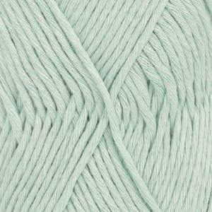DROPS Cotton Light Uni Colour garn - 50g - Mint (27)