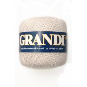 Grandi garn - 100g - Naturvit (1100)