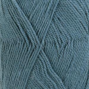 DROPS Babyalpaca Silk Uni Colour garn - 50g - Gråblå (6235)