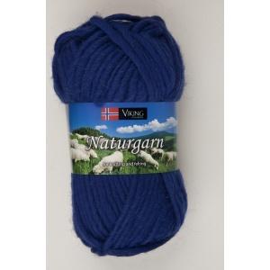 Viking garn Naturgarn 50g Kungsblå (624)