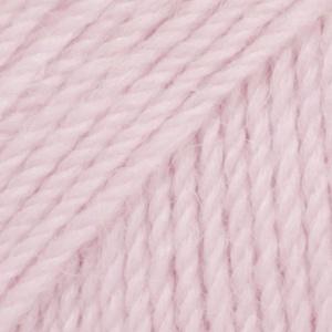 DROPS Flora Uni Colour garn - 50g - Rosa (21)