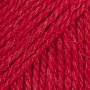 DROPS Flora Mix garn - 50g - Röd (18)