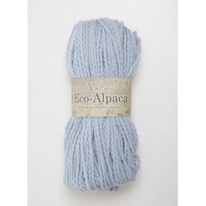 Viking garn Eco Alpaca 100g Ljusblå (420)