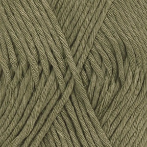 DROPS Cotton Light Uni Colour garn - 50g - Khaki (12)