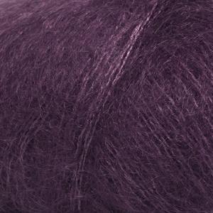 DROPS Kid-silk Uni Colour garn - 25g - Mörk lila (16)