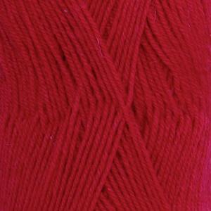 DROPS Fabel Uni Colour garn - 50g - Röd (106)