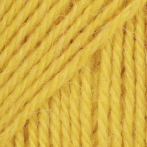 DROPS Flora Mix garn - 50g - Gul (17)