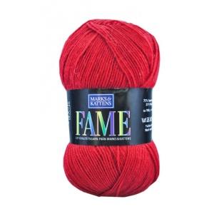 Fame garn - 100g - Röd (624)