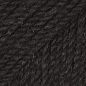 DROPS Flora Uni Colour garn - 50g - Svart (06)