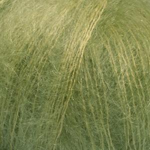 DROPS Kid-silk Uni Colour garn - 25g - Äppelgrön (18)