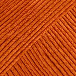 DROPS Muskat Uni Colour garn - 50g - Mörk orange (49)