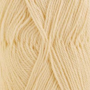 DROPS Babyalpaca Silk Uni Colour garn - 50g - Pudergul (2110)