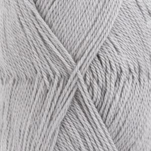 DROPS Babyalpaca Silk Uni Colour garn - 50g - Ljus grå (8108)