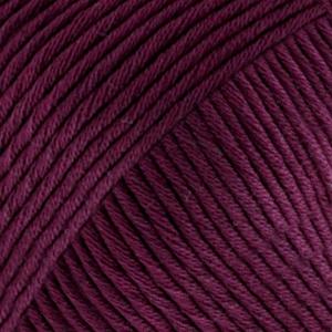 DROPS Muskat Uni Colour garn - 50g - Mörk plommon (38)