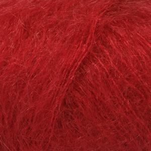 DROPS Kid-silk Uni Colour garn - 25g - Röd (14)