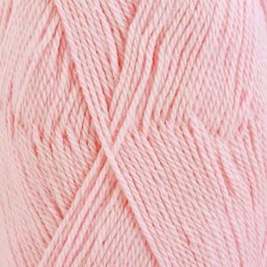 DROPS Babyalpaca Silk Uni Colour garn - 50g - Ljus rosa (3125)