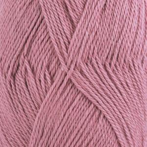 DROPS Babyalpaca Silk Uni Colour garn - 50g - Ljus gammelrosa (3250)