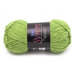 Syren garn - 50g - Grön (389)