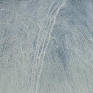 DROPS Kid-silk Uni Colour garn - 25g - Ljus gråblå (07)