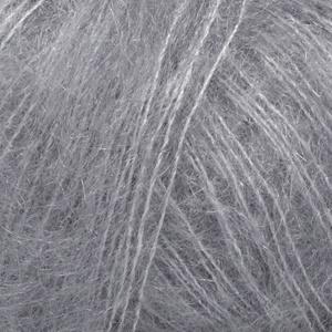 DROPS Kid-silk Uni Colour garn - 25g - Grå (10)
