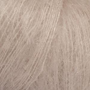 DROPS Kid-silk Uni Colour garn - 25g - Ljus beige (20)