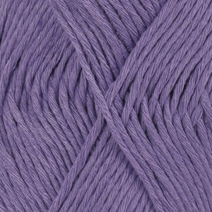 DROPS Cotton Light Uni Colour garn - 50g - Violett (13)