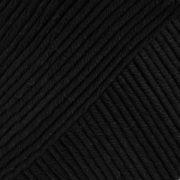 DROPS Muskat Uni Colour garn - 50g - Svart (17)